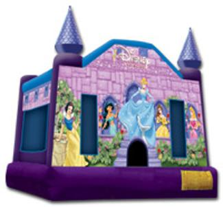 Princess Bounce House Snow White Belle Jasmine Little Girl Kid Party Entertainment Nashville TN