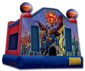 superman superhero bounce house for kids party entertainer of the year