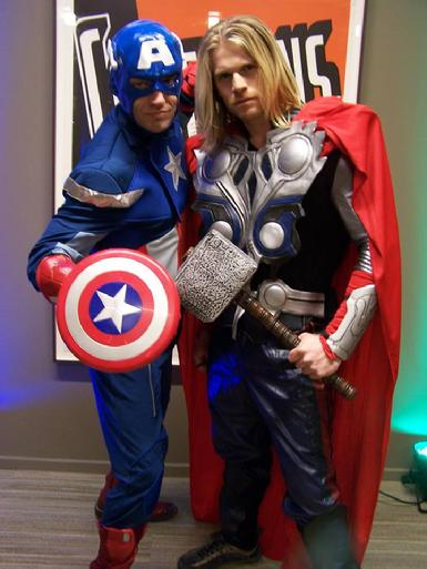 captain america thor avengers marvel dc superhero super heroes superheroes birthday party boy boys kids children entertainment nashville middle tn tennessee