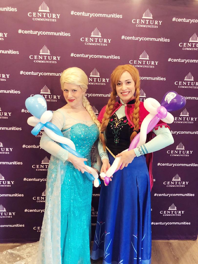 elsa and anna frozen princess