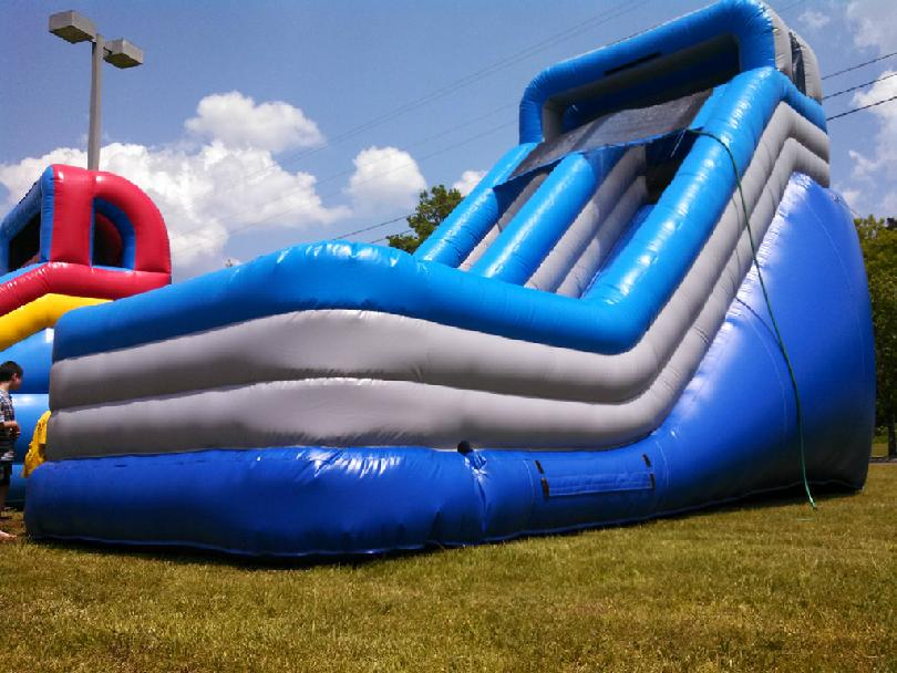 Water slide blue thunder davidson sumner co county nashville kids party parties kentucky summer